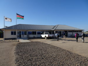 The vast terminal at the Lodwar Airport
